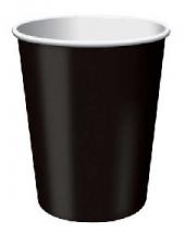 SOLID COLOUR BLACK VELVET CUPS