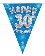 BUNTING BLUE 30TH