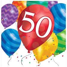 SERVIETTES BALLOOON BLAST 50
