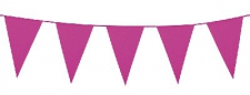BUNTING 30CM HOT PINK