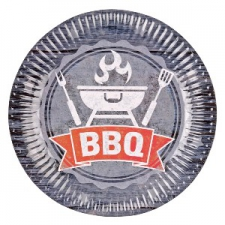 BBQ PARTY PLATES 23cnm 8s
