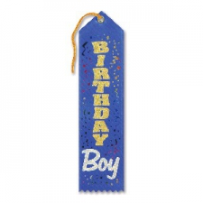 AWARD RIBBON BIRTHDAY BOY
