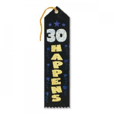 AWARD RIBBON 30 HAPPENS