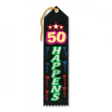 AWARD RIBBON 50 HAPPENS