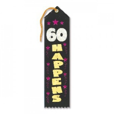 AWARD RIBBON 60 HAPPENS