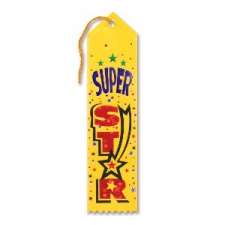 AWARD RIBBON SUPER STAR
