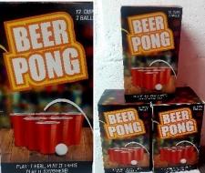 BEER PONG CUPS 12s 2 BALLS