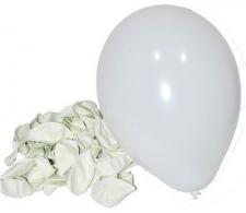 LATEX STANDARD BALLOONS WHITE 50s