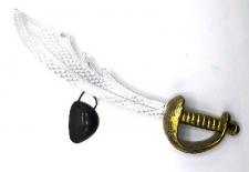 PIRATE SWORD N EYE PATCH