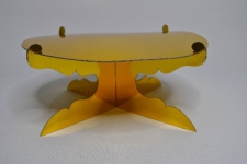 CAKE STAND GOLD 30CM
