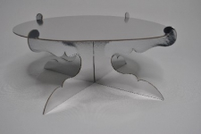 CAKE STAND SILVER 30CM
