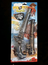 PIRATE GUN AND EYEPATCH