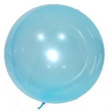 BOBO BALLOON 24 INCH TINT 140 CIRC BLUE 10S