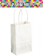 PARTY BAGS WHITE 8s