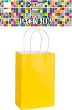 PARTY BAGS YELLOW 8s