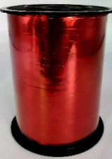 BALLOON RIBBON METALLIC RED 450 METRES