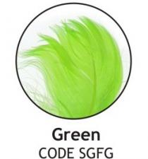 BALLOON FEATHERS GREEN