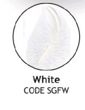 BALLOON FEATHERS WHITE